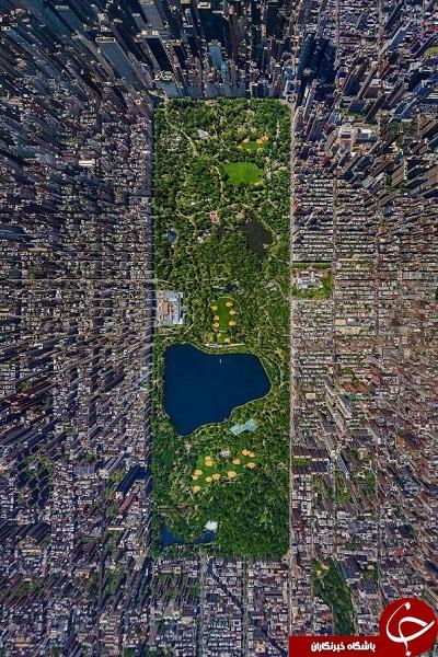 عکس های هوایی بی نظیر + تصاویر