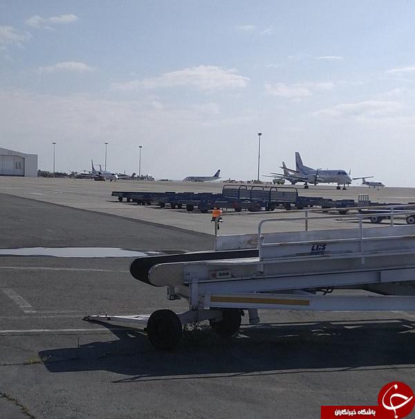 هواپیمارُبایی در قبرس/هواپیمای ربودهشده به زمین نشست/احتمال وجود بمب در هواپیما+ تصاویر