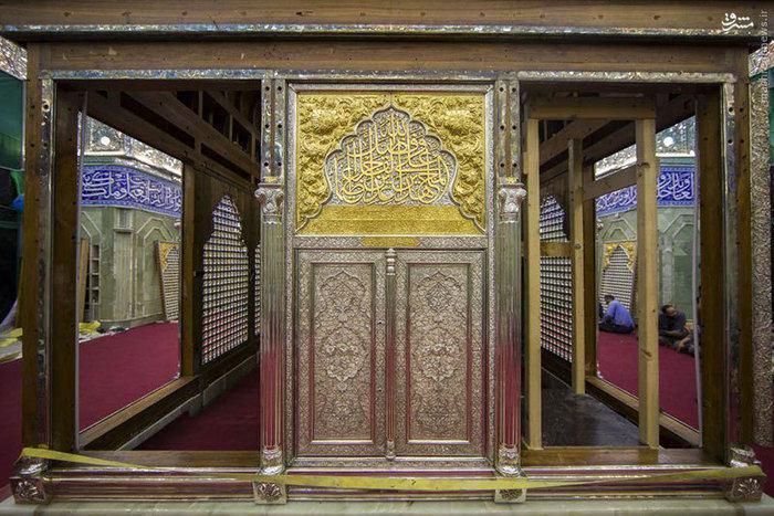 درب جدید ضریح حضرت اباالفضل(علیه السلام)