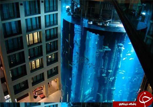 بزرگترین آسانسور دریایی در برلین آلمان+ تصاویر