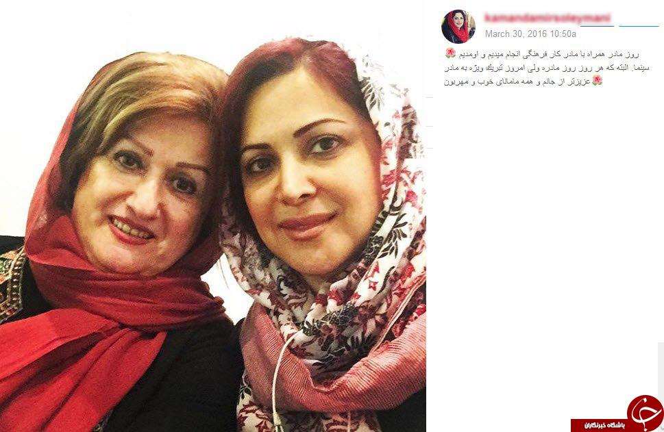هنرمندان و مسئولین اینگونه روز مادر را تبریک گفتند +تصاویر