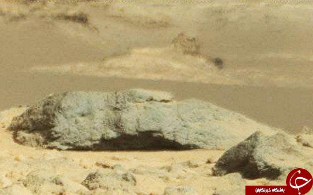 پیدا شدن فامیل دور ابوالهول در مریخ+تصاویر