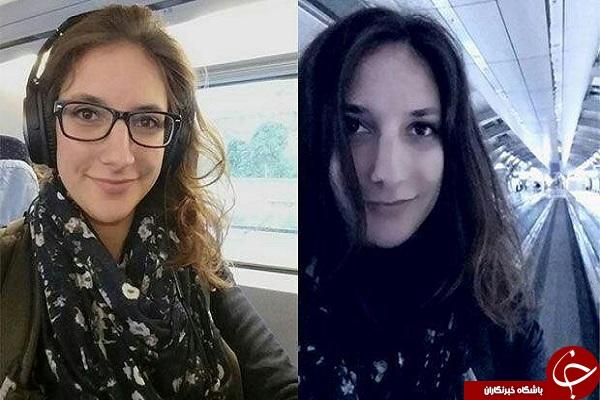 دختر آلمانی چگونه در قطار زندگی می کند +تصاویر
