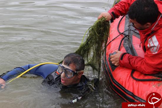 4321846 976 22 ساعت عملیات بیوقفه جهت جستوجوی جوون غرقشده+تصاویر