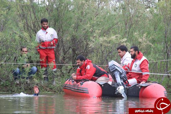 4321847 978 22 ساعت عملیات بیوقفه جهت جستوجوی جوون غرقشده+تصاویر