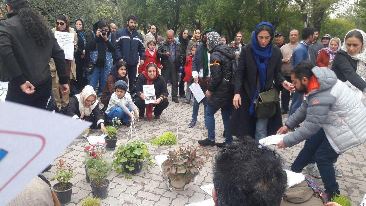 دردسر جدید هدیه تهرانی بعد از تجمع بیمجوز