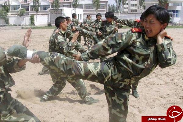 زبده ترین زنان ارتشی در جهان +تصاویر