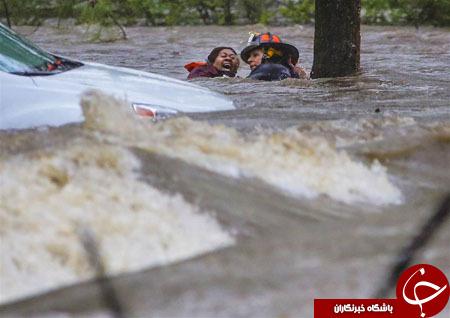 از  عکس سلفی با هواپیماربا تا نجات یک زن از سیلاب