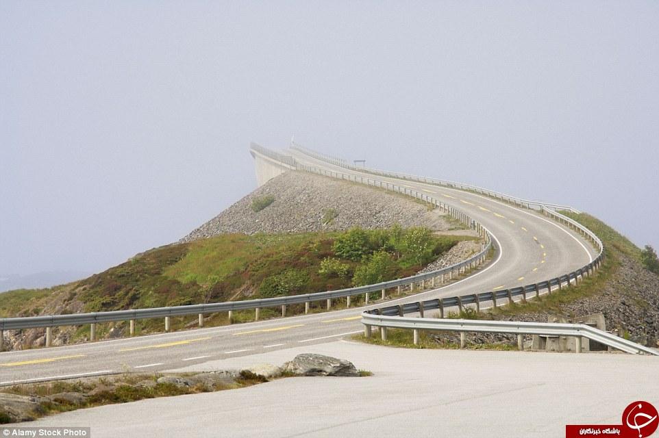عجیبترین جادههای جهان از بزرگراه آبی تا جاده مرگ +تصاویر