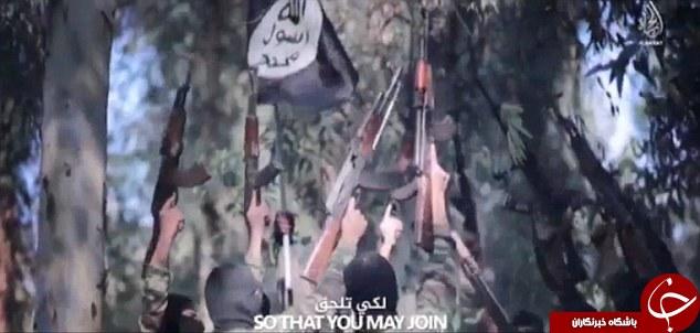 فیلم هولناک داعش برای استخدام نیروهای جدید+ فیلم و تصاویر