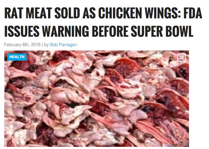 فروش گوشت موش به جای گوشت مرغ+ عکس