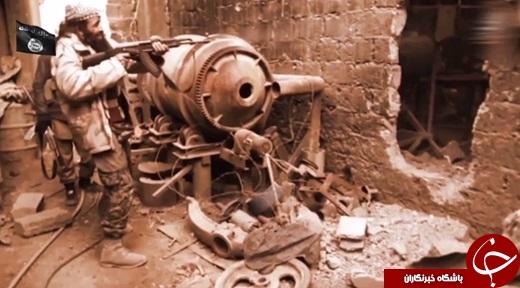 انهدام برج ایفل در ویدئوی جدید داعش+تصاویر و فیلم