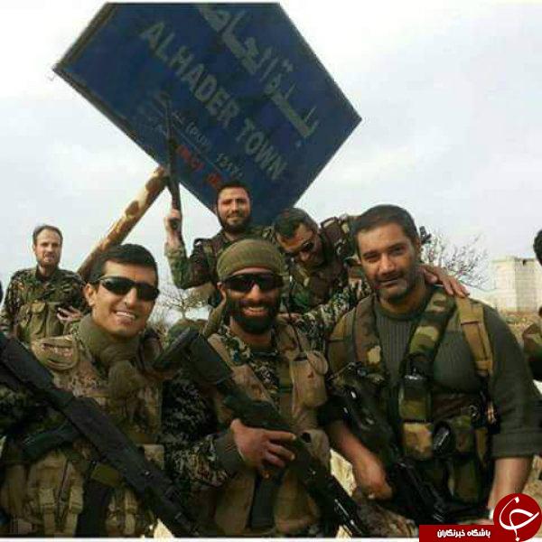 نخستین تصویر حضور کلاه سبز های ارتش در سوریه
