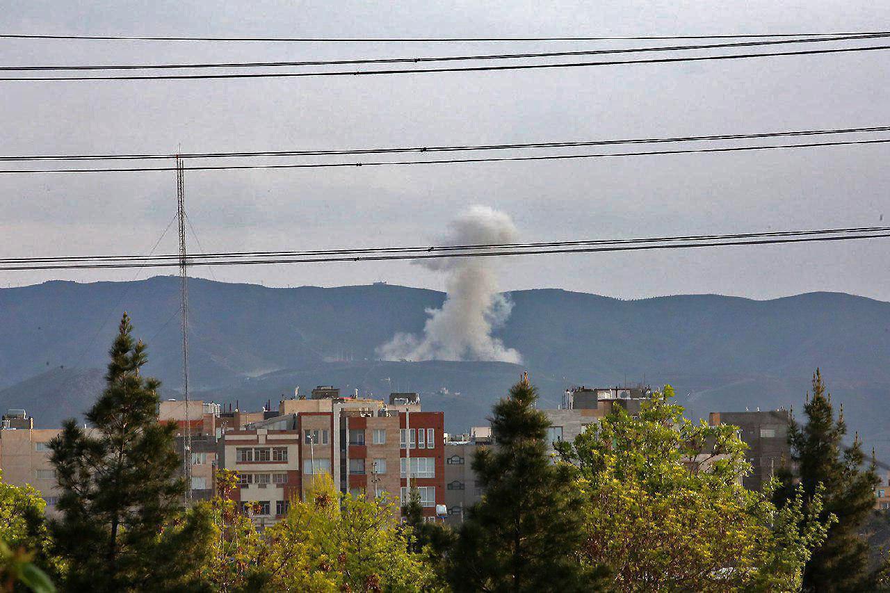 ترس شدید مردم از صدای انفجار در انتهای هاشمیه مشهد
