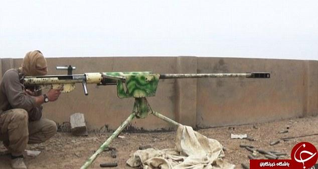 نمایش مخوف ترین تک تیراندازهای داعش+ تصاویر