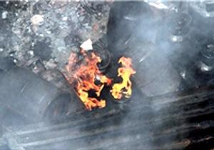 4349992 206 انفجار کپسول گاز در شهریار یک مصدوم برجای گذاشت