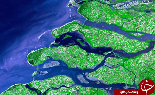 شگفت انگیزترین تصاویر زمین از دید ناسا+ 10 عکس