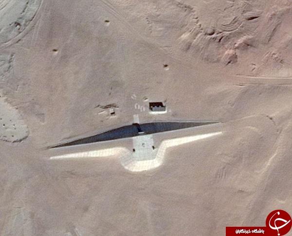 سازه های عجیب و غریب موجودات فضایی در مصر! +تصاویر