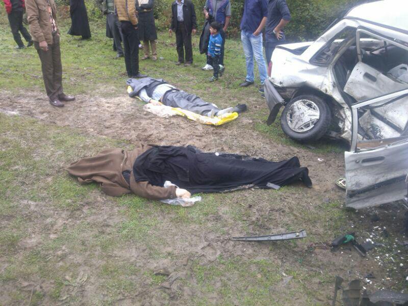 8 کشته و مجروح در برخورد دو دستگاه پراید + تصاویر