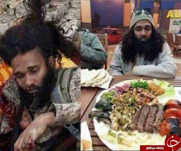 لقمه بعدی ابوکباب داعش در جهنم +عکس
