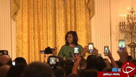 میشل اوباما، میزبان جشن نوروز در کاخ سفید+ تصاویر