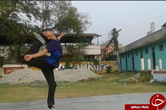 رکورد عجیب در کاراته + تصاویر