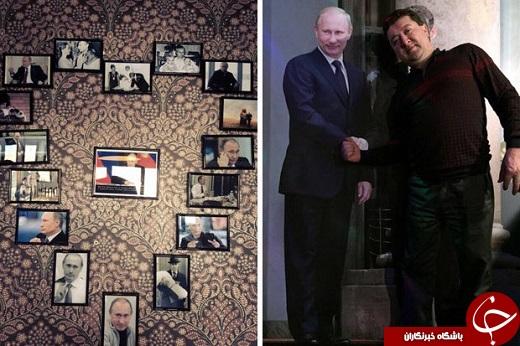 کافه ولادیمیر پوتین با دستمال توالت اوباما!+تصاویر