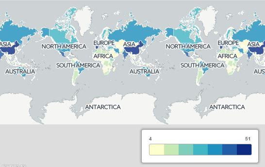 4370100 134 15 نقشهای که دید شما را به جهان عوض میکند+ تصاویر