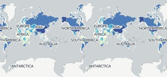 4370106 638 15 نقشهای که دید شما را به جهان عوض میکند+ تصاویر