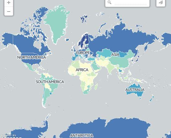 4370109 904 15 نقشهای که دید شما را به جهان عوض میکند+ تصاویر