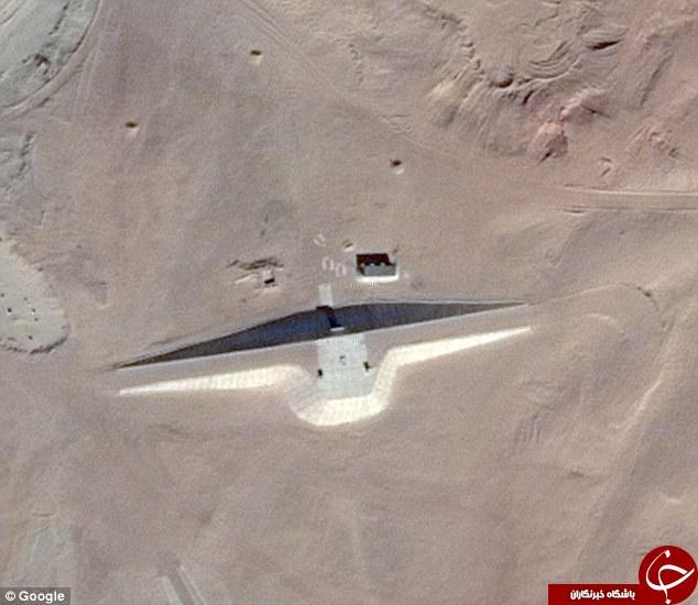 گوگل تصویری از ساختمان آدم فضاییها منتشر شد+تصاویر