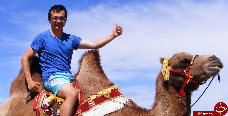 جوانی که با 80 دلار به 80 کشور سفر کرد+ تصاویر