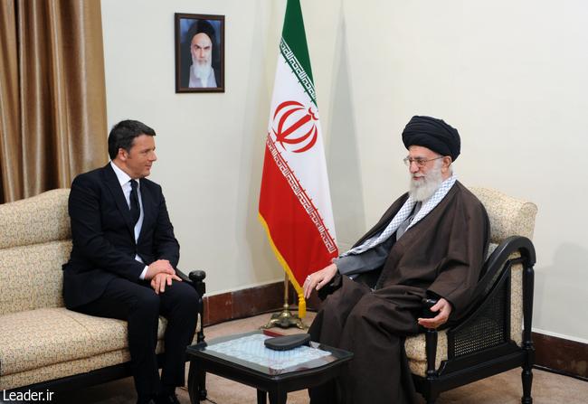 بیانات رهبر معظم انقلاب اسلامی در دیدار نخستوزیر ایتالیا