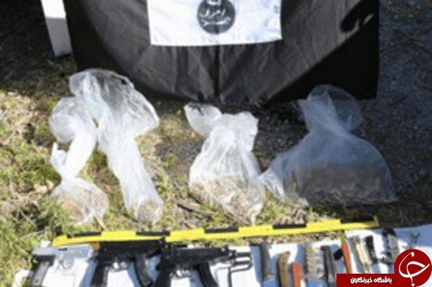 کشف سلاح های وحشتناک داعش در منطقه توریستی اسپانیا+ تصاویر