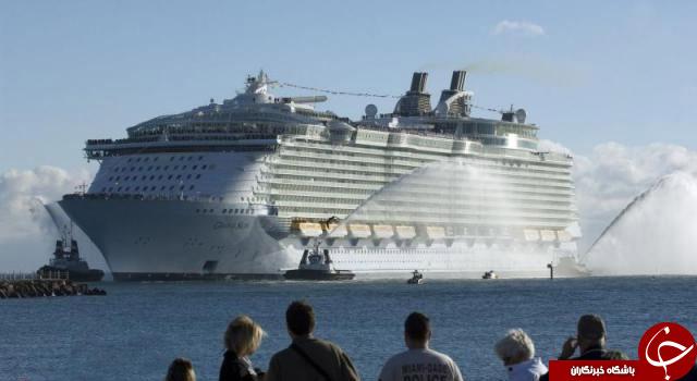 جدیدترین و زیباترین کشتی جهان درآلمان+تصاویر