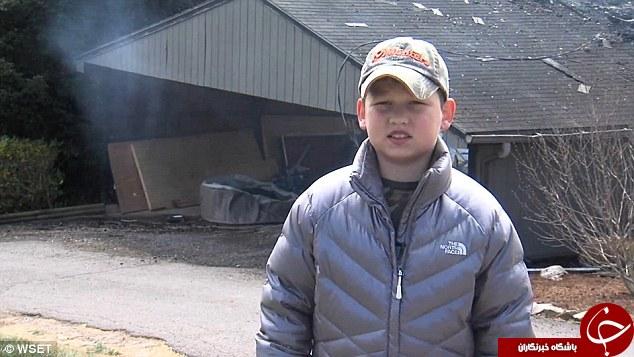 درایت پسر 10 ساله جان چهل نفر را نجات داد + تصاویر