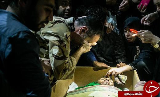 مادرانههای جوانترین تکاور شهید ارتش: فرزندم فدای امام خامنهای/روز تولد و شهادتش یکی شد