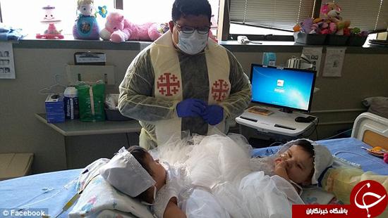 کودکان به هم چسبیده به سلامت از هم جدا شدهاند/ 3 قلوها در سلامت کامل هستند