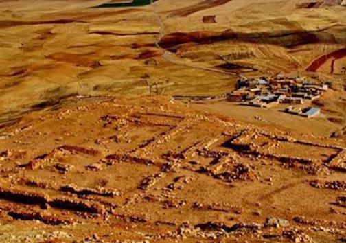 معبد باستانی سرخ دم لکی کوهدشت
