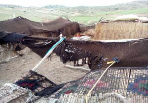 Image result for عشایر و خسارت سیل