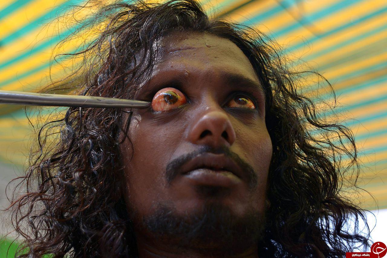 مرتاض هندی شعبده بازی انسان عجیب
