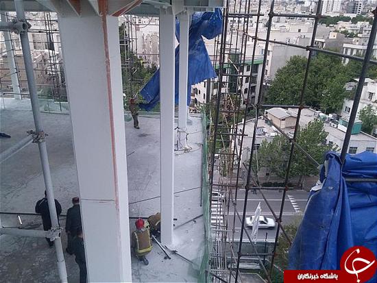 وزش شدید باد حادثه آفرید + تصاویر