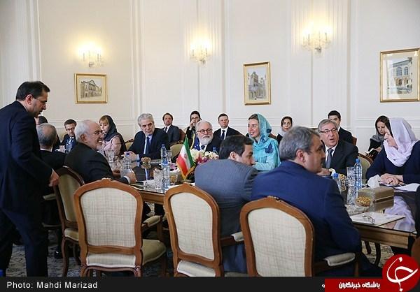 موگرینی و همراهانش با چه حجابی وارد تهران شدند؟+تصاویر