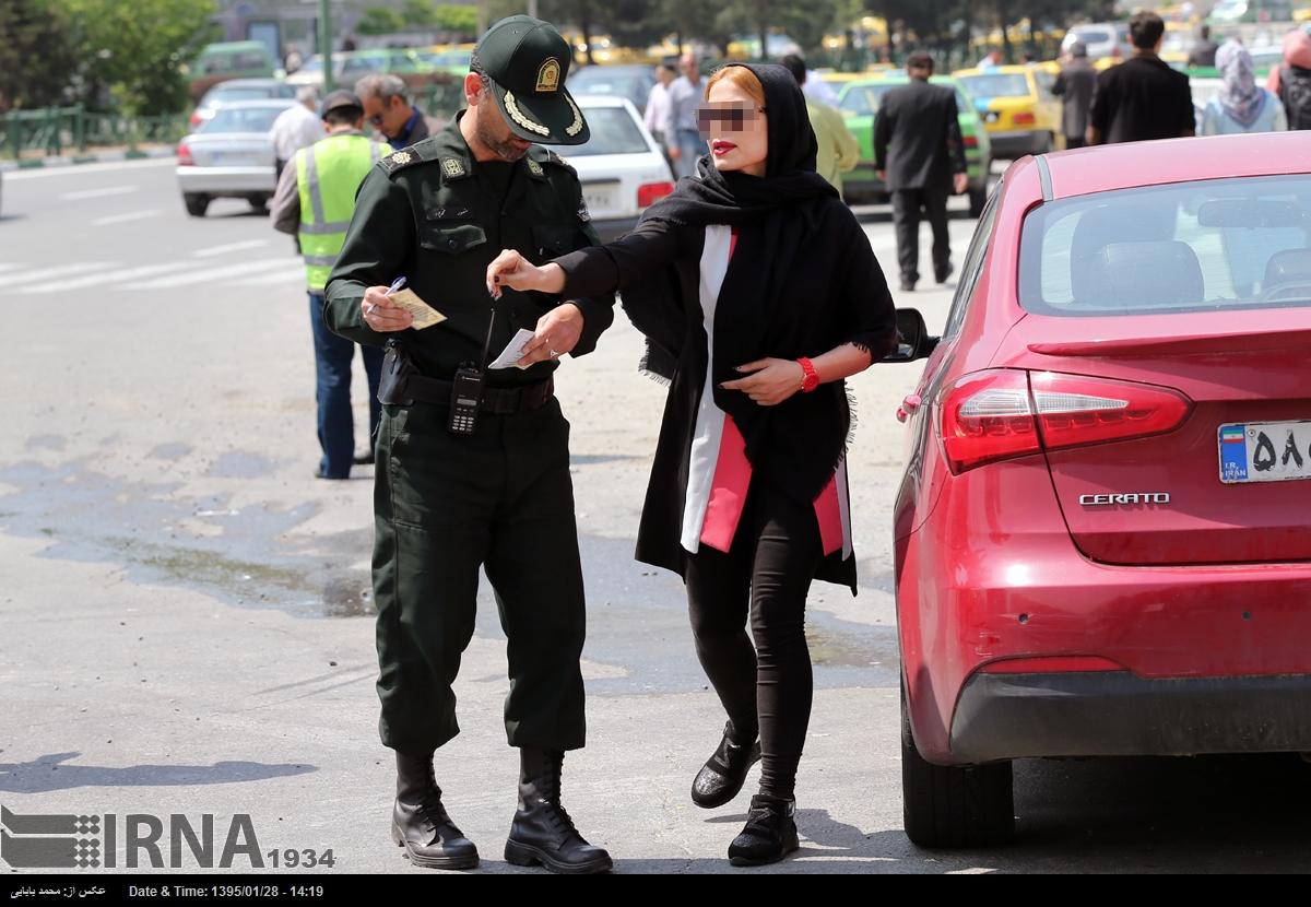 استبرنامه گشت ارشاد در خیابانها و بزرگراههای تهران