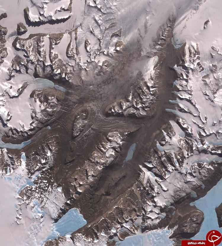 تصاویر ماهوارهای ناسا از کره زمین+22 عکس