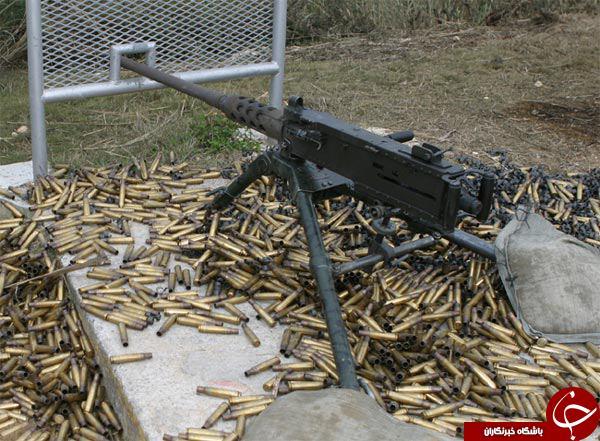 اسلحه M2 اینگونه خودروی سواری را منهدم می کند+فیلم آهسته