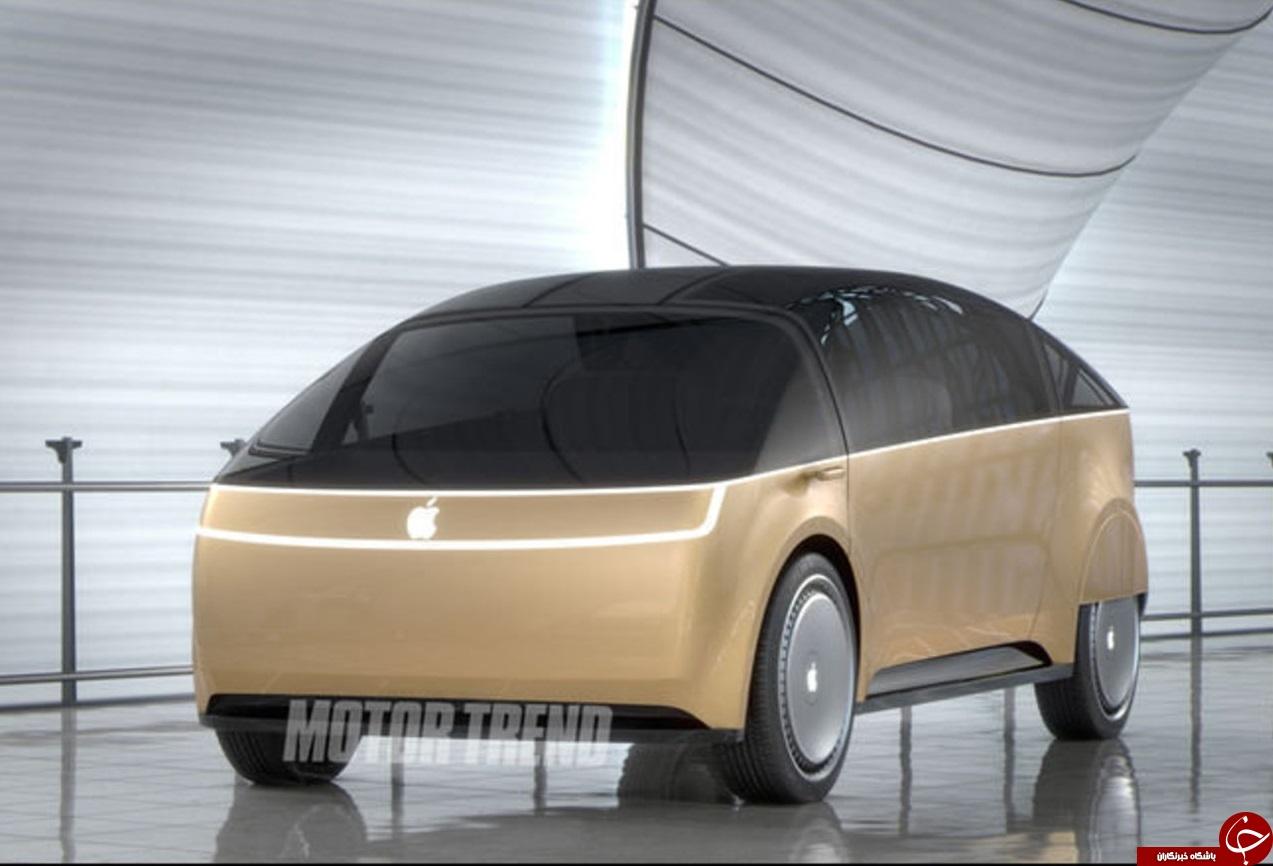 خودروی  الکتریکی اپل لو رفت + تصاویر