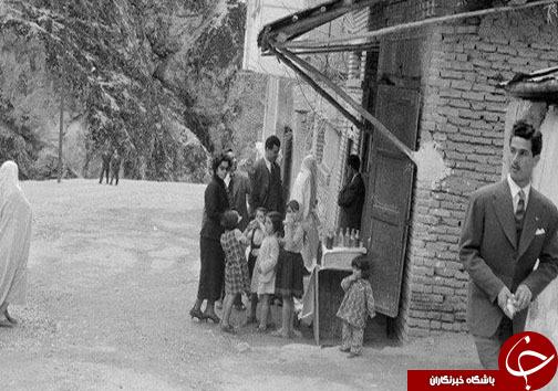 عکس/ محله دربند 67 سال پیش