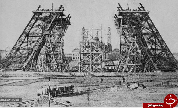 برج ایفل اینطور ساخته شد+تصاویر