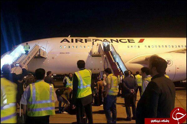 ورود ایر فرانس به ایران